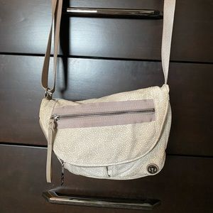 Lululemon Athletica Tan Crossbody Bag | Rare Find